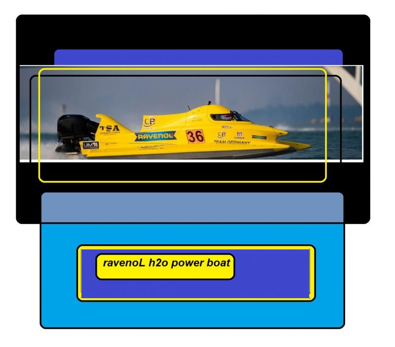 ravenoL h2o power boat