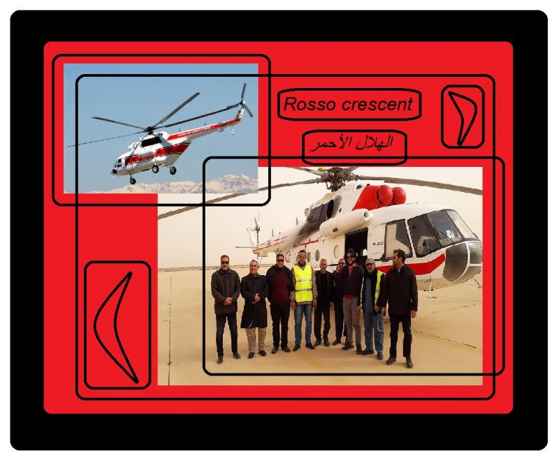 red crescent rosso helicopter 3