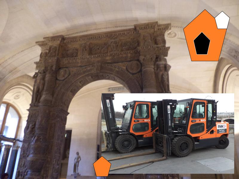 roman archway forklift