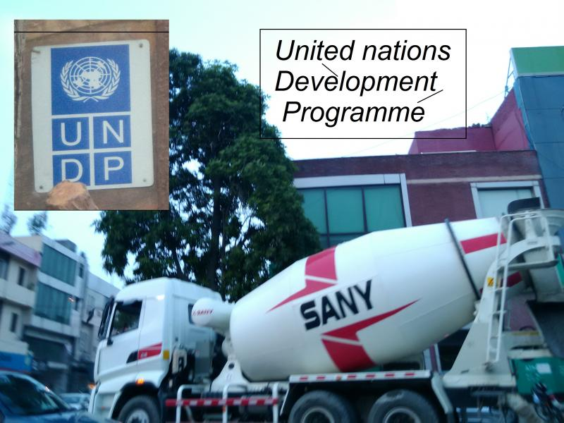 sany cement mixer development programme un