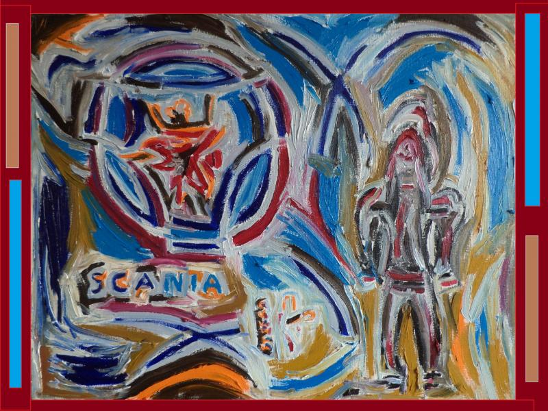 scania painting