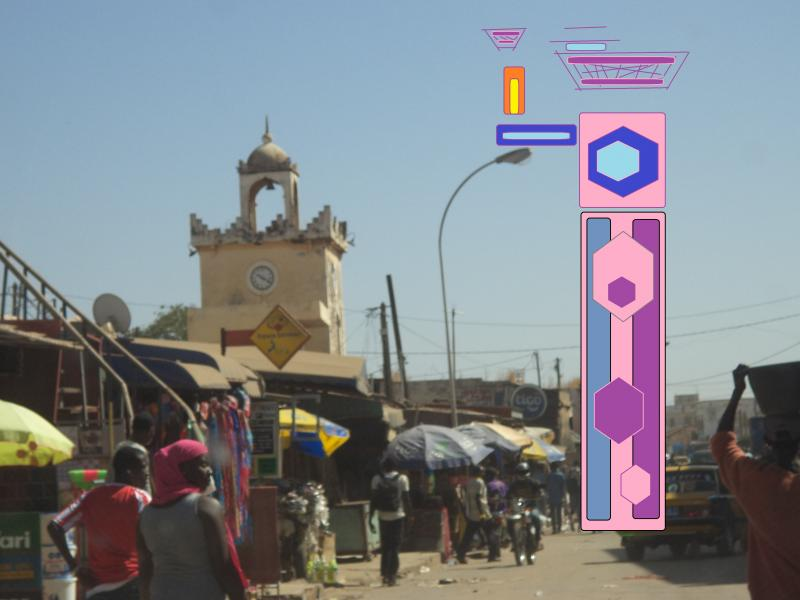 senegal clock straight mecca