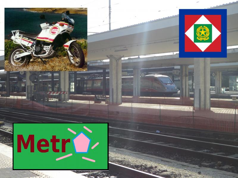 silver train italy plus metro cagiva