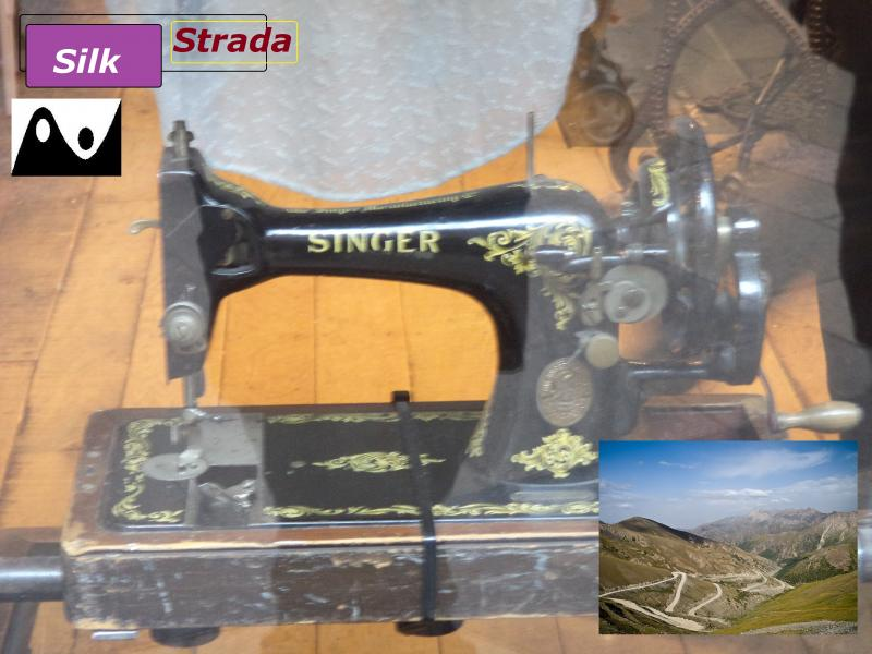 singer sewing machine silk strada