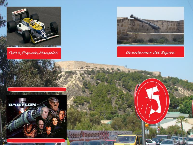 spain 2011 guardamar castle williams mansell piquet