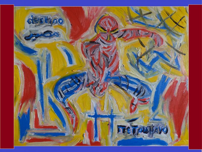 spiderman destiny  painting