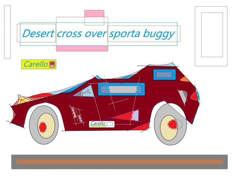 sports cross over buggy carello