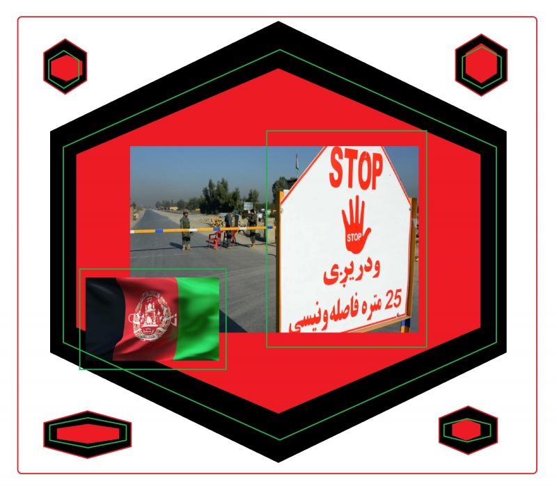 stop sign afghanistan checkpoint