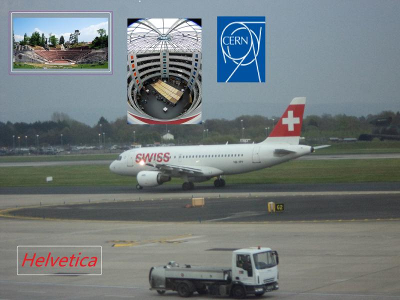swiss air cern