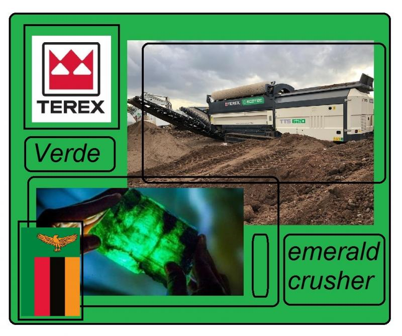 terex verde emerald crusher