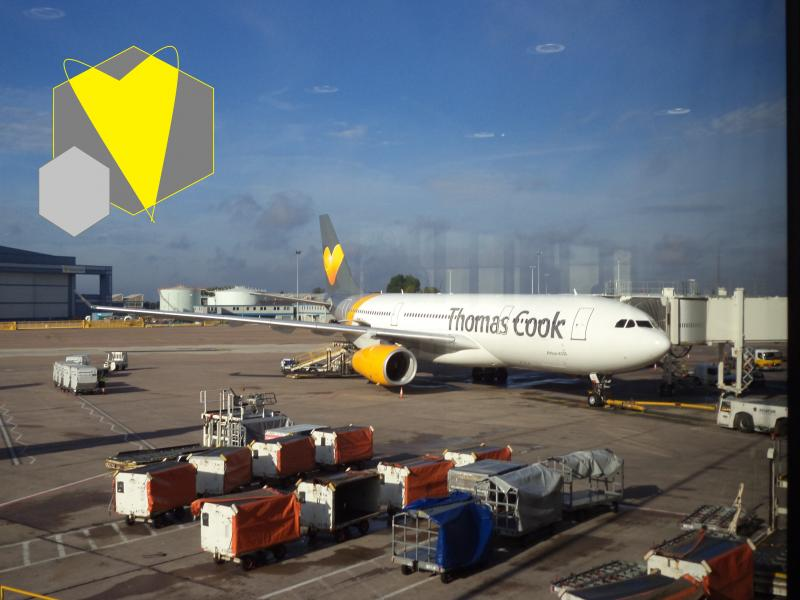thomas cook yellow heart