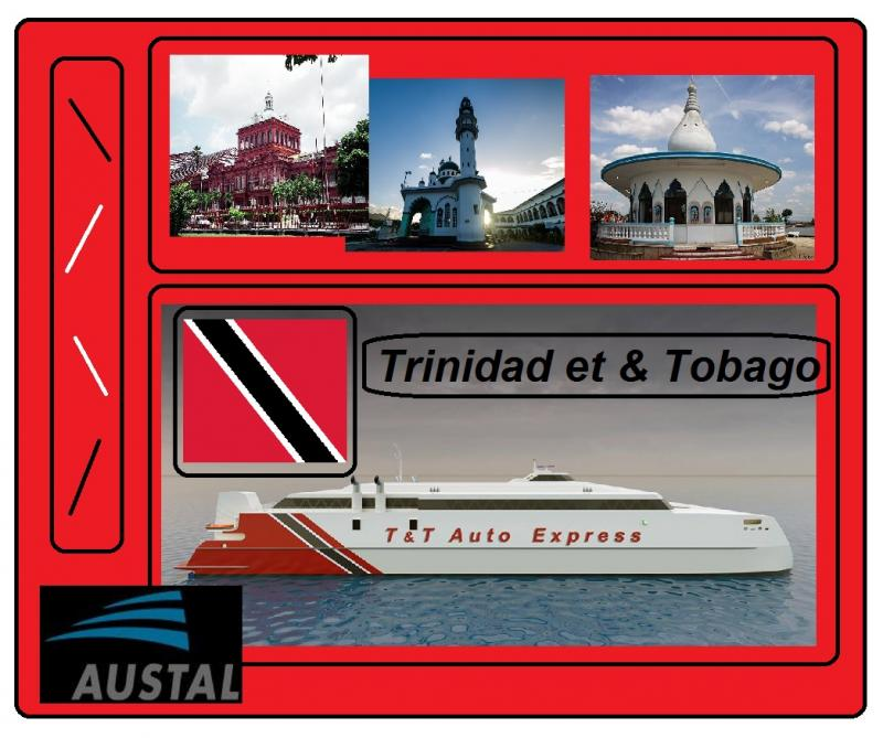 trinidad and tobago ferry austal ships