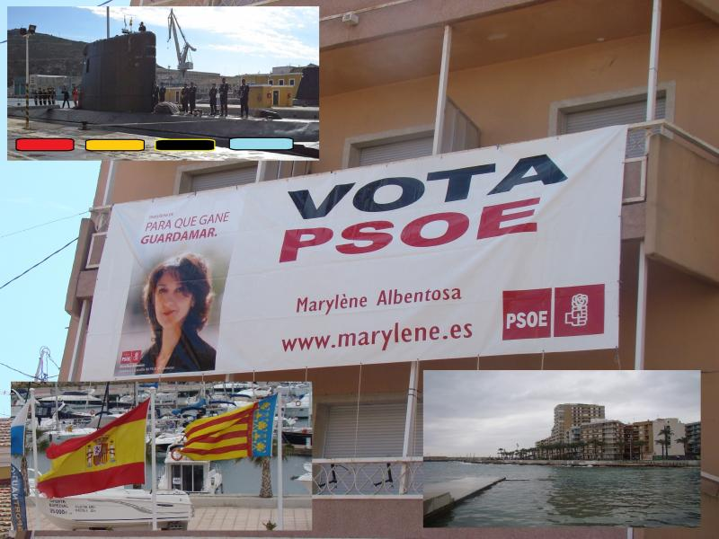 vota spain espana cartheghena submarine
