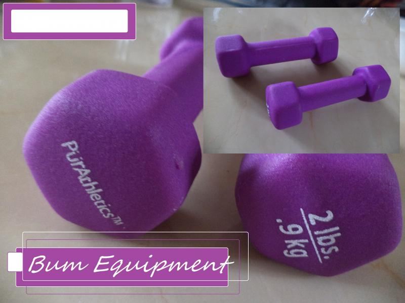 weights 2 bum equipment