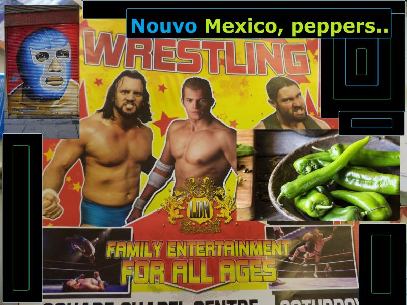 wrestling mexico peppers